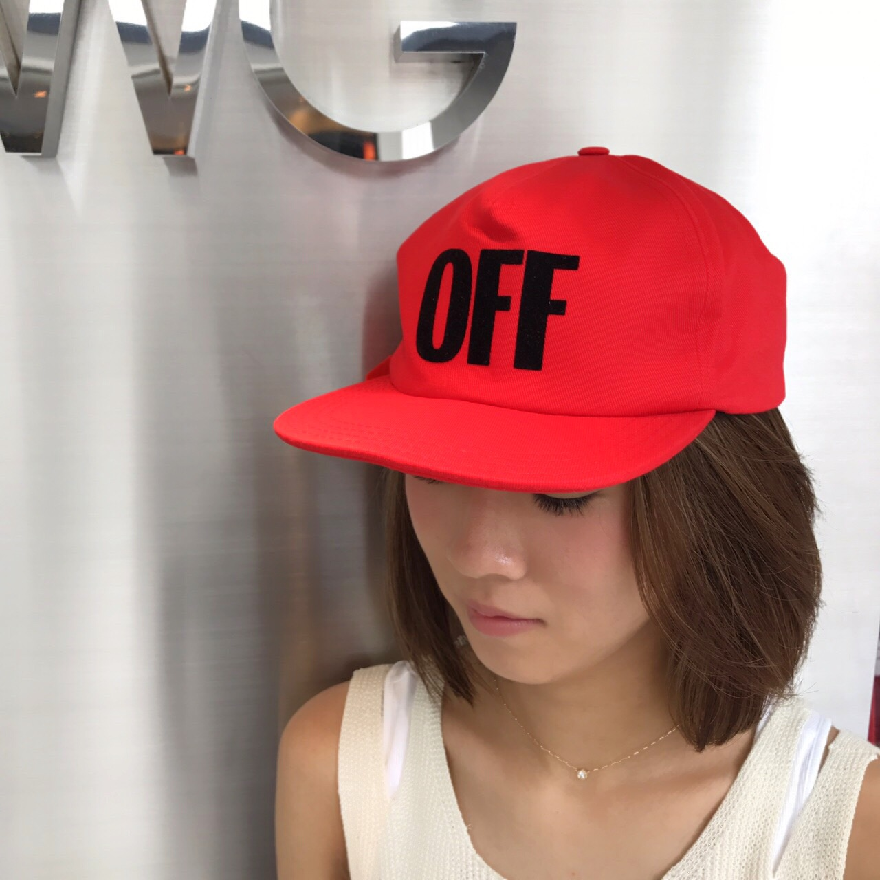 OFF-WHITE(CAP)&お知らせ