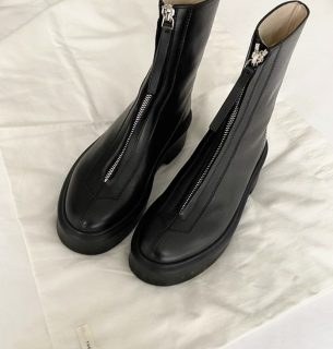 THEROW ザロウ レザーZipped Boot1